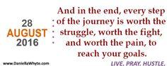 Worth It (Live. Pray. Hustle. 08/28/16) - http://daniellawhyte.com/worth-live-pray-hustle-082816/  #liveprayhustle