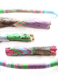 DIY Painted Sticks