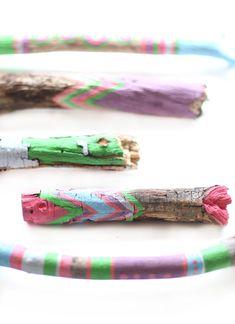 DIY Painted Sticks