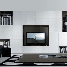 tv and storage | TV Unit Storage White - Jesse - Fci Contemporary & Modern Furniture