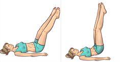 Wystarczą 3 minuty przed snem! Ćwiczenia w łożku, które wyszczuplają nogi | 5 Minut dla Zdrowia Tracy Anderson, Face And Body, Health Fitness, Workout, Sports, Shape, Diet, Hs Sports, Work Out