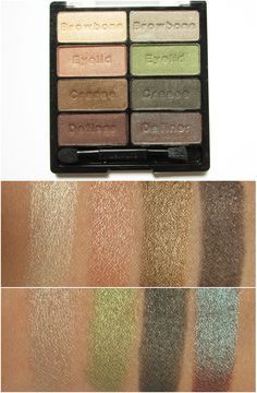 Wet´n Wild Coloricon Eyeshadow Collection - 738 Comfort Zone - 8.5g - 6.49 Euro / Swatches & MAC Dupes