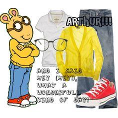 """Dress like Arthur!"" by aujpodge on Polyvore"