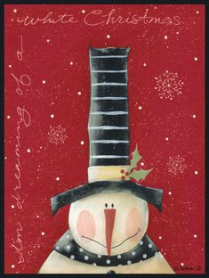 Lesson inspiration (White Christmas by Jill Ankrom) - hat could show the different winter holiday colors or symbols