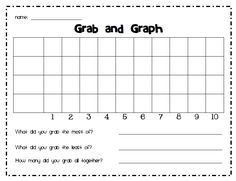 Data and Graphing for First Grade | FirstGradeFaculty.com ...