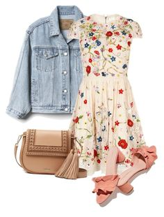 """""""Sunny afternoon"""" by indigo-lilburn-quick on Polyvore featuring Gap, Alice + Olivia, Loeffler Randall and Kate Spade"""