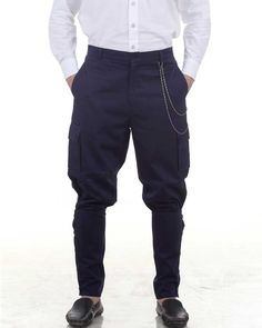 Airship Pants Trousers -Blue: