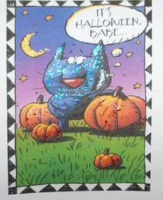 MATURE Handmade HALLOWEEN Card and by SouthamptonCreations on Etsy, $2.00