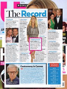We spot our announcement with Sofia Vergara for her new fragrance So Very Sofia in @usweekly!