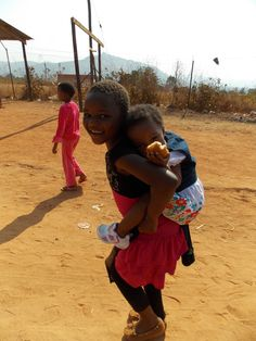 Children of Lobamba Village in Swaziland
