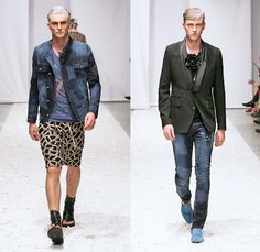 TOM REBL 2014 Spring Summer Mens Runway Collection - Milan Italy Catwalk Fashion Show: Designer Denim Jeans Fashion: Season Collections, Runways, Lookbooks and Linesheets
