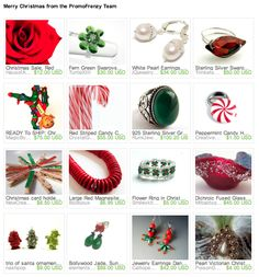 Merry Christmas from the PromoFrenzy Team on Etsy. Happy holidays!