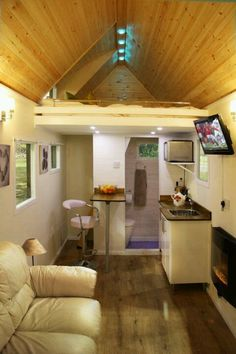 modern living rooms, tiny homes, lofts, the loft, wheel