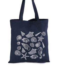 ZOOT Originál - Modrá plátěná taška Mořský mix - 1