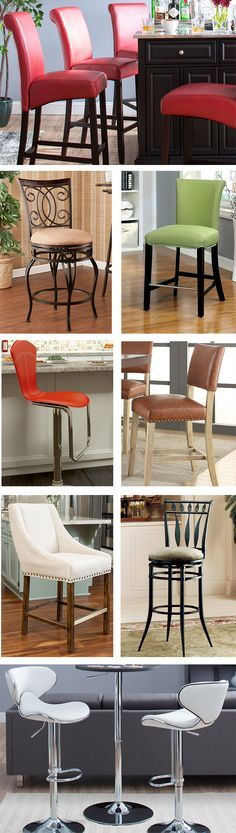 Bar stools are versatile pieces of furniture that can be used in nearly any room, from the kitchen to the patio to the dining room. Traditional bar stools can create a formal look in a space while contemporary bar stools are staples in any modern home. Visit Wayfair and sign up today to get access to exclusive deals everyday up to 70% off. Free shipping on all orders over $49.