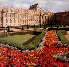 The gardens of Versailles. Ever since I learned about Louis XIV it's been my dream to go here.