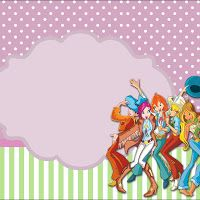 Winx Free Printable Party Invitations and Images.