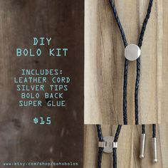 DIY Bolo Tie Kit!