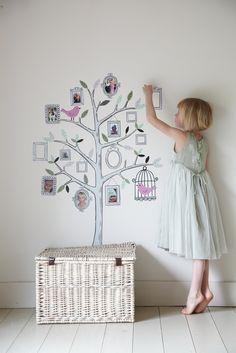 Fotos en la pared.