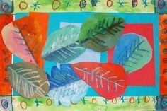 leaf collages