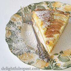 Pear Frangipane Tart - Tarte a la Frangipane aux Poires / www.delightfulrepast.com Frangipane Tart, Flaky Pastry, Winter Desserts, Fun Cup, Food For Thought, Sweet Treats, Dessert Recipes, Tarts, Ethnic Recipes