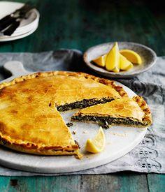 Erbazzone Reggiano (Spinach Pie) - Venice, Italy