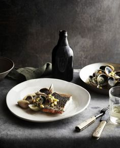 Barramundi Clams - Styling Geraldine Munoz, Photography Sharyn Cairns  James Kidman