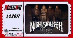 Тази събота Nightstalker и Obsidian Sea ще разтърсят Клуб Live & Loud! Nightstalker се завръщат в България с нов албум и дълъг сет лист! Билетите са ограничено количество и препоръчваме да се подсигурите навреме. #Билети #Tickets: https://www.eticketsmall.com/product_info.php?products_id=790