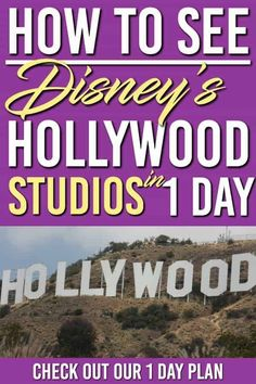 Disney Worlds Hollywood Studios is an amazing place! To see it all in one day you will need these tips and tricks. Here is the plan for you to see the best rides and shows of what this park has to offer Disney World Parks, Disney World Planning, Walt Disney World Vacations, Disney Worlds, Disney Travel, Family Vacations, Disney World Tips And Tricks, Disney Tips, Disney 2015