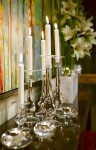 Vintage French Soul ~ Sarah Richardson Christmas - silver and candles so elegant and timeless ...
