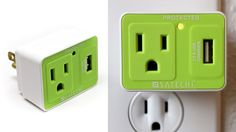 Satechi's compact USB surge protector