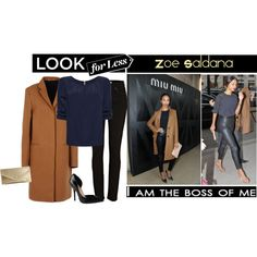 Look For Less: Zoe Saldana