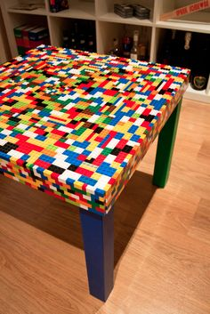 The #Lego table by #Artisign #Explosion