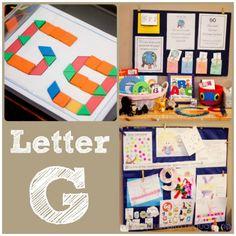 Home #Preschool Letter G