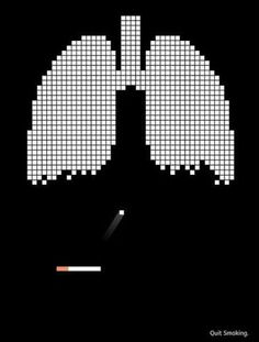 Creative advertisement for Anti-Smoking. #advertising #anti-smoking #creative