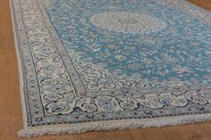 Hand Knotted Nain Rug from Iran (Persian). Length: 250.0cm by Width: 155.0cm. Only £3510 at https://www.olneyrugs.co.uk/shop/rugs-for-sale/persian-nain-21364.html    Olge our unique set of Turkish carpets, kilim ottomans and Kilim cushions at www.olneyrugs.co.uk