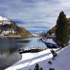 Lago di Fedaia  Marmolada