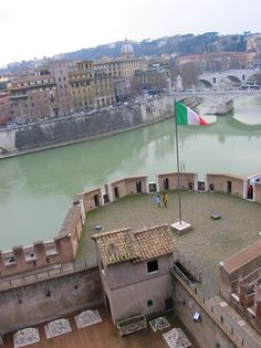 View from Castel San Angelo