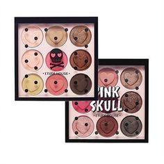 2016/10/29 21:16:51 ideal_md #エチュードハウス#pinkskull 。 #ナチュラルメイク も深みのある#スモーキーメイク も叶える9色のアイシャドウパレット💗 。 📍#1 PK001(Lovely Skull):ラブリーな目元に仕上げるライトピンク系 📍#2 PK002(Funky Skull):ファンキーな目元に仕上げるダークピンク系 📍¥2,100(+tax) 。 。 直接お店に来れない方は、郵送致しますのでお気軽にコメント・DM、LINEください😁💗 。 。 #ideal_md#etudehouse#韓国コスメ#奈良県#通販#セレクトショップ#美容#コスメ#美白#韓国#明洞#韓国ファッション#プチプラコスメ#オルチャン#口紅#リップ#韓国服#男の子ママ#女の子ママ#アイシャドウ#beauty#cosmetics#korean  #美容