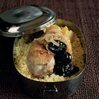 Tajine van kip, appels en pruimen - recept - okoko recepten