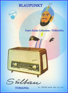 ** TOM'S RADIO WORLD TOMANIA & TOM'S TOY WORLD TOMANIA **: BLAUPUNKT RADIO All Band, Short Waves, Vintage Table, Berlin Germany, Toms, Berlin