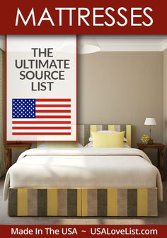Buying a mattress made in USA is easier than you think. We have a list of American made mattresses that suit every sleeping style. You can rest easy with your new purchase.