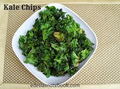 Have you tried kale chips yet? You probably have, as they have been quite popular for a while now. But here's the recipe in ca...