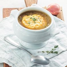Soup Recipes, Dinner Recipes, Happy Foods, Homemade Soup, Lunches And Dinners, Cheeseburger Chowder, Tapas, Good Food, Food And Drink