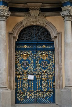 University door in Poland~One of my favs thus far, what a door! And not just because it's located in my native home either. Cool Doors, Unique Doors, Portal, Knobs And Knockers, Door Knobs, Entrance Doors, Doorway, Entrance Ways, When One Door Closes