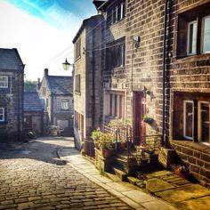 Main Street Heptonstall, West Yorkshire