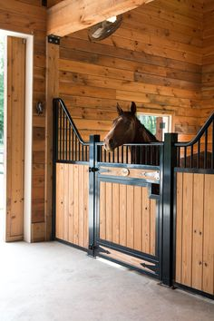 The Europe-inspired Tuscany Horse Stall is classic and durable. The custom made … The European-inspired Tuscany Horse Stall is classy and durable. The custom-bent designer stall front has attracted many customers for it's added ventilation and unique styl