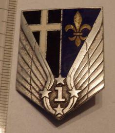 insigne militaire pucelle 1° AVIATION DRAGO