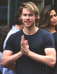 Chord Overstreet!! I love his new little hair!