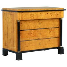 Antique Swedish Biedermeier Chest of Drawers, circa 1830 | From a unique collection of antique and modern dressers at https://www.1stdibs.com/furniture/storage-case-pieces/dressers/